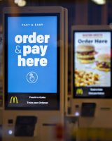 voice technology,use of voice technology, voice technology for taking drive thru food orders,McD's voice tech.