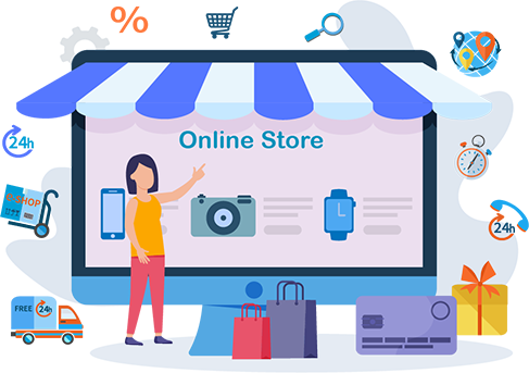 Retail Industry with eCommerce, CRM, and BI Solutions