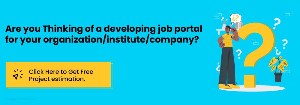 job portals development costs