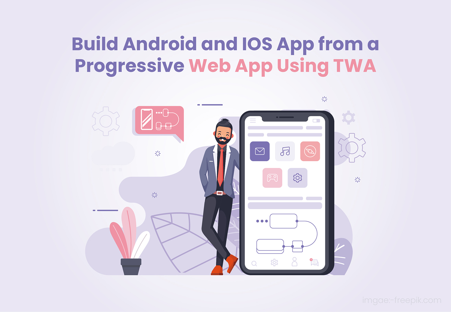 Build Android and IOS App from a Progressive Web App Using TWA