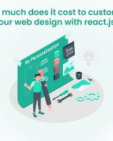 custom Web Design cost with react.js