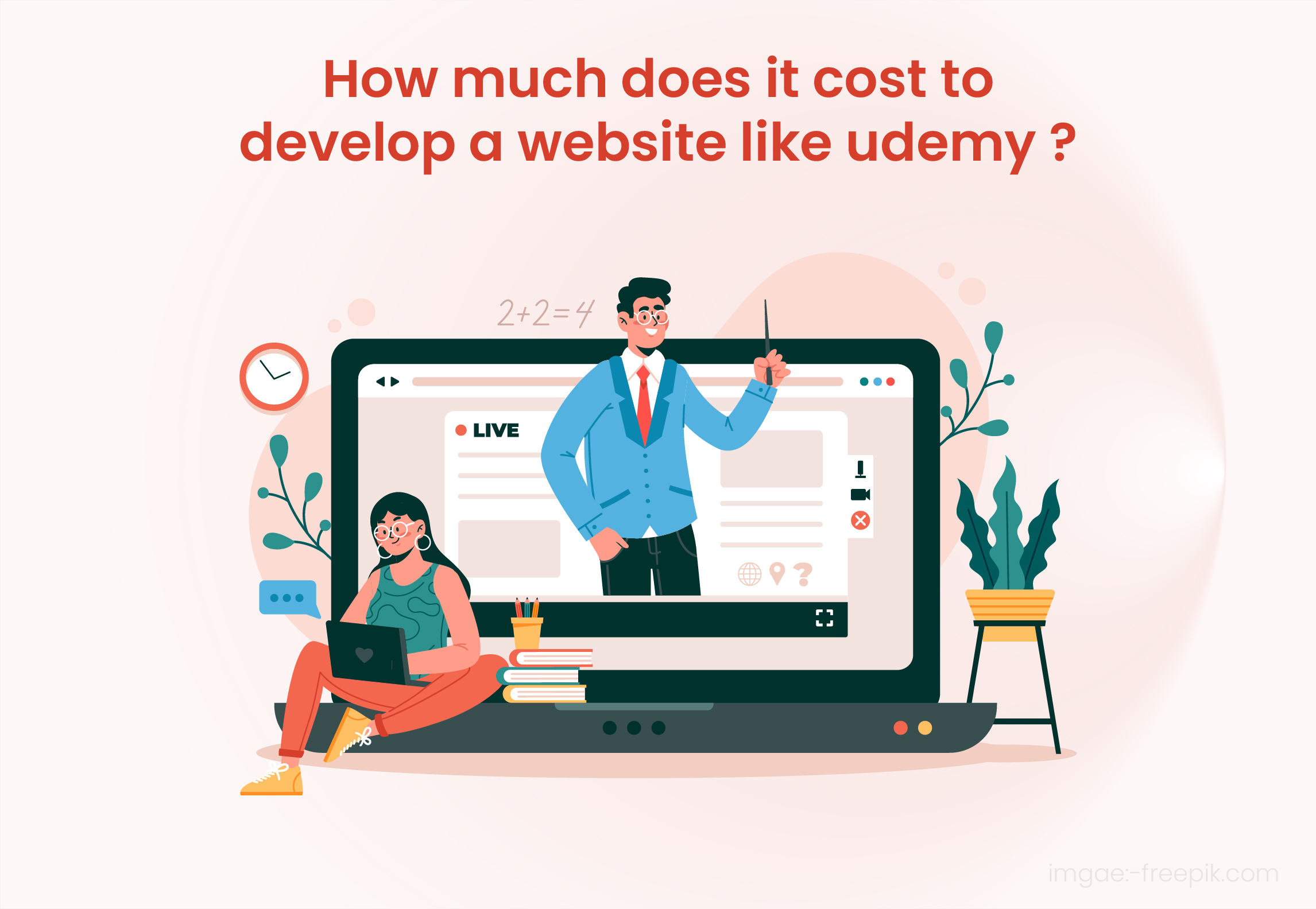 cost of website like Udemy