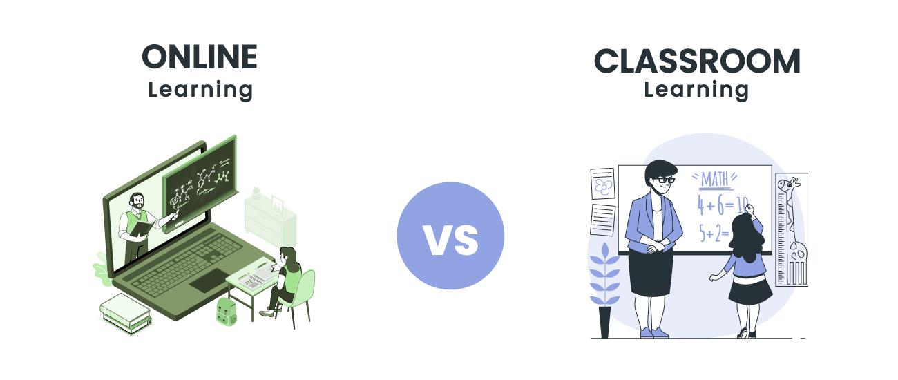 classroom education vs online education